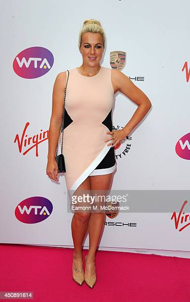 Tennis Player Anastasia Pavlyuchenkova attends the WTA PreWimbledon Party as guests enjoy Ciroc Vodka presented by Dubai Duty Free at Kensington Roof...