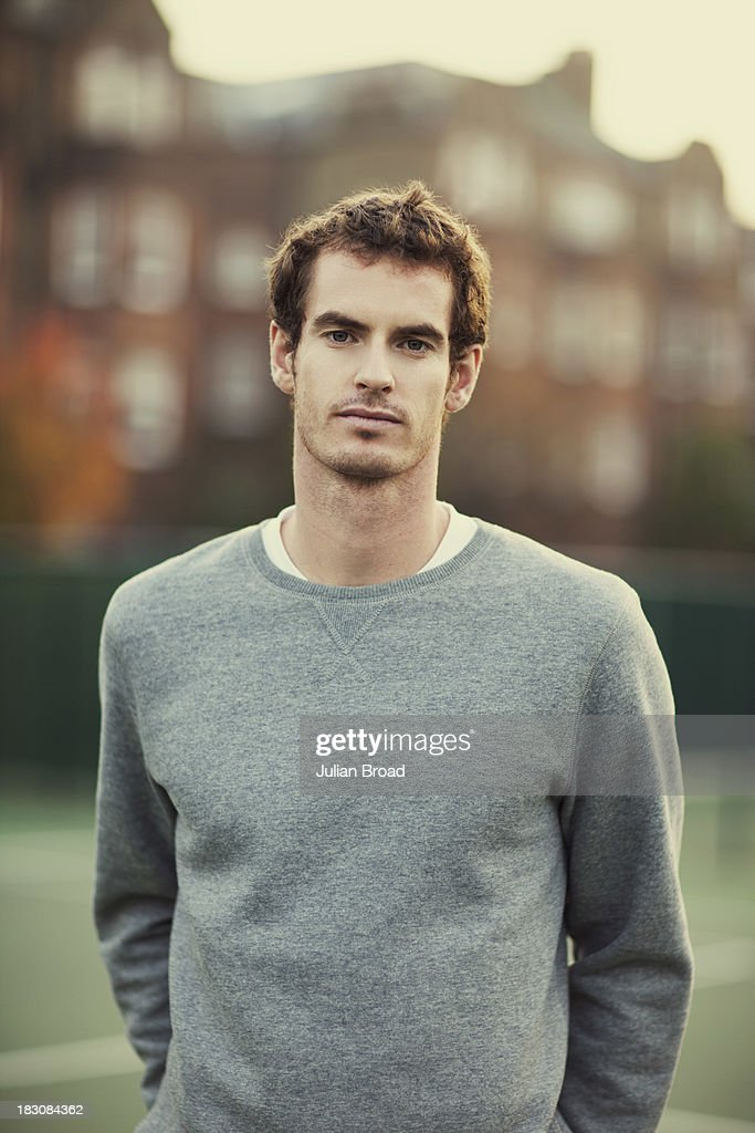 Tennis player <a gi-track='captionPersonalityLinkClicked' href=/galleries/search?phrase=Andy+Murray+-+Tennis+Player&family=editorial&specificpeople=200668 ng-click='$event.stopPropagation()'>Andy Murray</a> is photographed for ESPN magazine on September 29, 2012 in London, England.