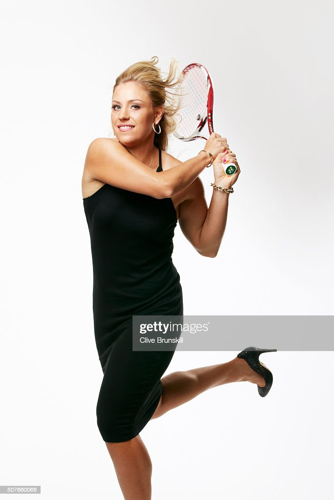 Tennis player <a gi-track='captionPersonalityLinkClicked' href=/galleries/search?phrase=Angelique+Kerber&family=editorial&specificpeople=4307332 ng-click='$event.stopPropagation()'>Angelique Kerber</a> is photographed on August 10, 2012 in New York City.