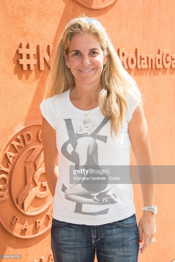 Tennis Player Arantxa Sanchez attends day six of the 2016 French Open at Roland Garros on May 27, 2016 in Paris, France.