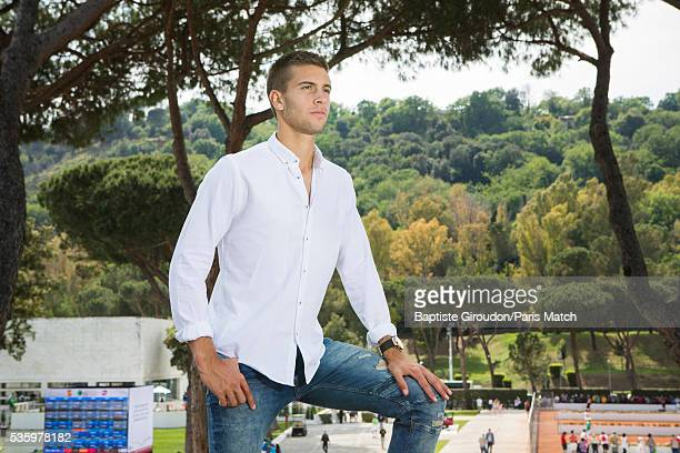 Tennis player Borna Coric is photographed for Paris Match on May 7 2016 in Rome Italy