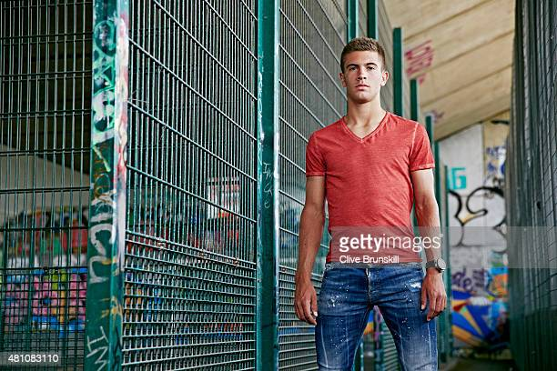 Tennis player Borna Coric is photographed on June 25 2015 in London England