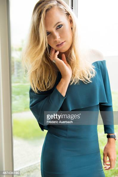 Tennis player Caroline Wozniacki is photographed for Rhapsody Magazine on July 1 2015 in Los Angeles California ON DOMESTIC EMBARGO UNTIL DECEMBER 1...