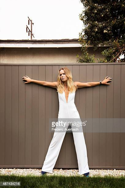 Tennis player Caroline Wozniacki is photographed for Rhapsody Magazine on July 1 2015 in Los Angeles California PUBLISHED IMAGE ON DOMESTIC EMBARGO...