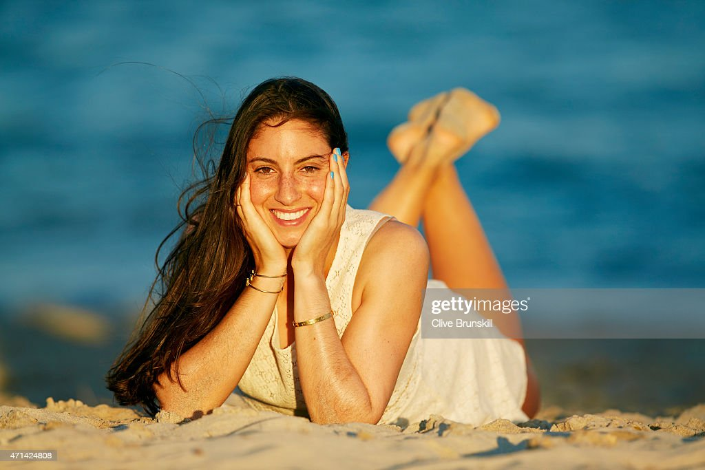Tennis player <a gi-track='captionPersonalityLinkClicked' href=/galleries/search?phrase=Christina+McHale&family=editorial&specificpeople=5671165 ng-click='$event.stopPropagation()'>Christina McHale</a> of the United States poses during a portrait session on March 22, 2015 in Key Biscayne, Florida.