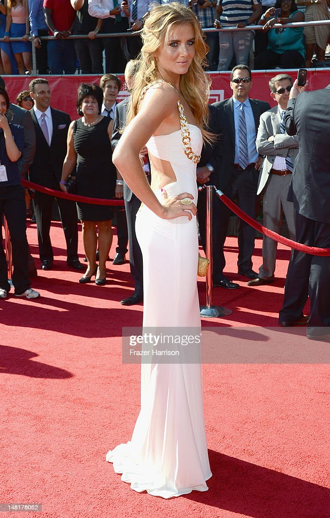 Tennis player Daniela Hantuchova arrives at the 2012 ESPY Awards at Nokia Theatre L.A. Live on July 11, 2012 in Los Angeles, California.