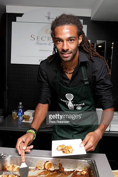 Tennis player Dustin Brown attends Taste Of Tennis Week Taste Of Tennis Gala at the W New York on August 21 2014 in New York City