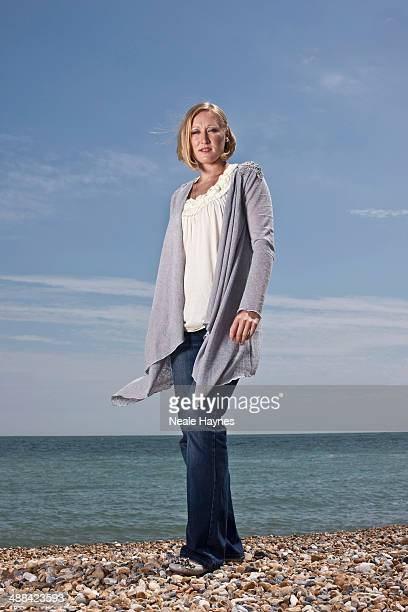 Tennis player Elena Baltacha is photographed on June 13 2010 in Brighton England