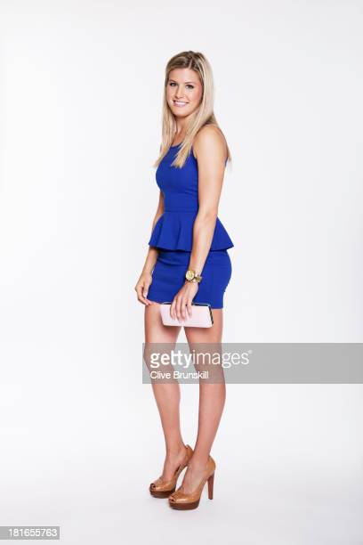 Tennis player Eugenie Bouchard is photographed on June 30 2013 in London England