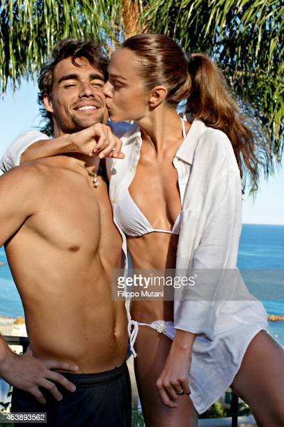 Tennis player Fabio Fognini is photographed for Vanity Fair Italy in Arma di Taggia Italy
