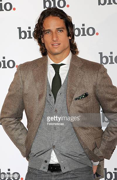 Tennis player Feliciano Lopez presents his documentary on Bio TV channel at the Urban Hotel on December 1 2010 in Madrid Spain