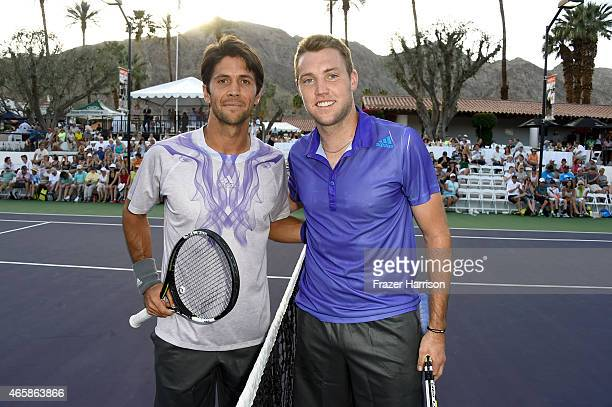 Tennis player Fernando Verdasco attends the 11th Annual Desert Smash Hosted By Will Ferrell Benefiting Cancer For College at La Quinta Resort and...