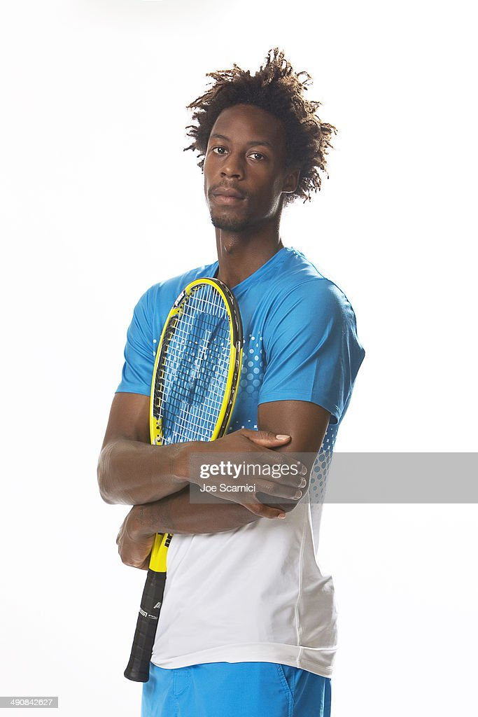 Tennis player Gael Monfils is photographed for Self Assignment on August 26, 2011 in New York City.