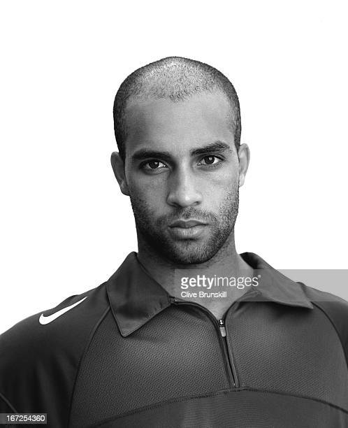 Tennis player James Blake is photographed on October 9 2004 in Miami Florida