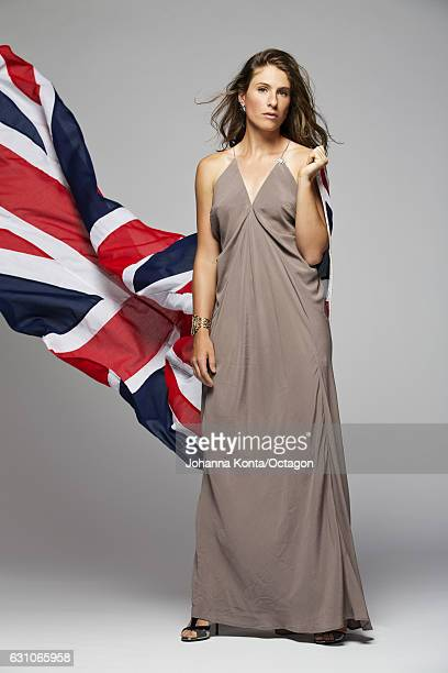Tennis player Johanna Konta is photographed at the Ashdown Park Hotel and Country Club on May 17 2016 in East Grinstead England