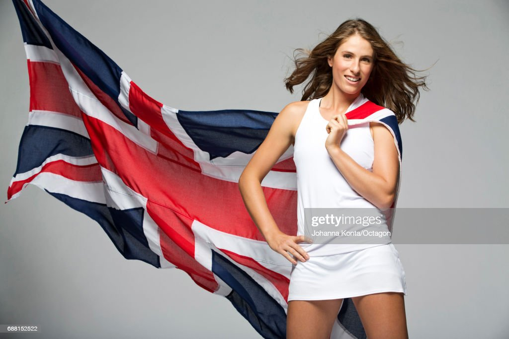 Tennis player Johanna Konta is photographed at the Ashdown Park Hotel and Country Club on May 17, 2016 in East Grinstead, England.