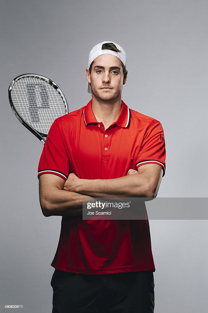 Tennis player John Isner is photographed for Self Assignment on November 27, 2012 in Bradenton, Florida.