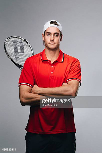 Tennis player John Isner is photographed for Self Assignment on November 27 2012 in Bradenton Florida