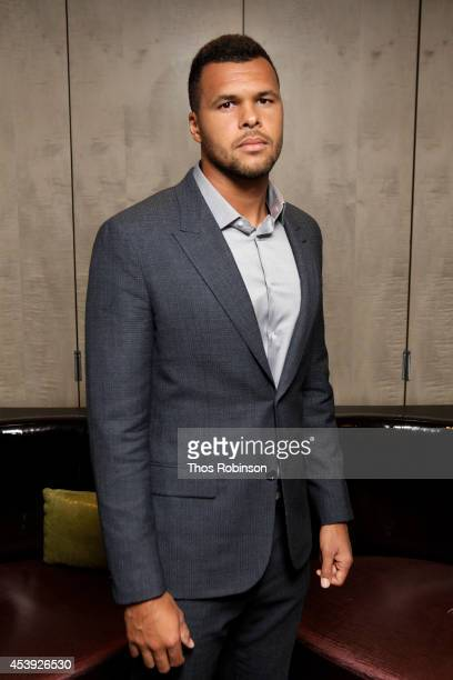 Tennis player JoWilfried Tsonga attends Taste Of Tennis Week Taste Of Tennis Gala at the W New York on August 21 2014 in New York City