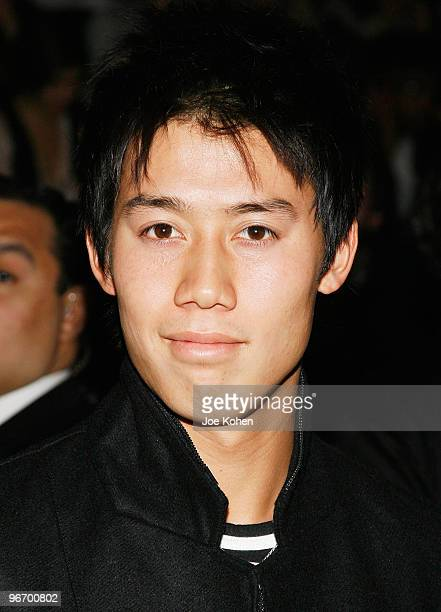 Tennis player Kei Nishikori attends Y3 Fall 2010 during MercedesBenz Fashion Week at Park Avenue Armory on February 14 2010 in New York City