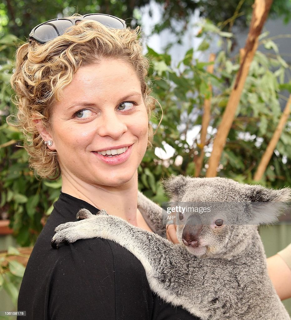 Kim Clijsters Visits The Lone Pine Sanctuary s and