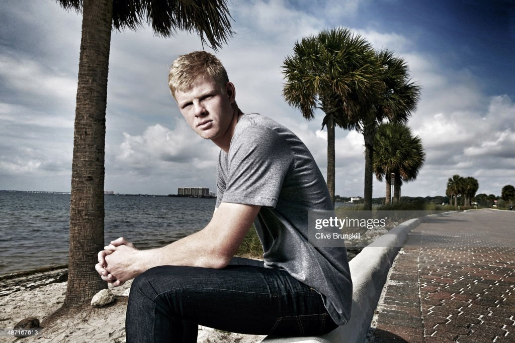 Tennis player Kyle Edmund is photographed for on March 22, 2014 in Miami, Florida.
