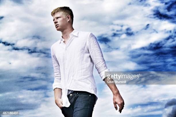 Tennis player Kyle Edmund is photographed on March 22 2014 in Miami Florida