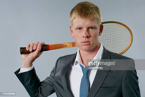 Tennis player Kyle Edmund is photographed on May 21 2013 in London England