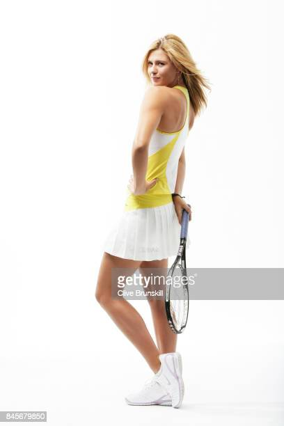 Tennis player Maria Sharapova is photographed on November 22 2006 in Florida United States