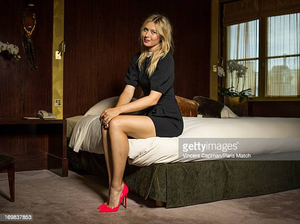 Tennis player Maria Sharapova is photographed Paris Match on May 22 2013 in Paris France