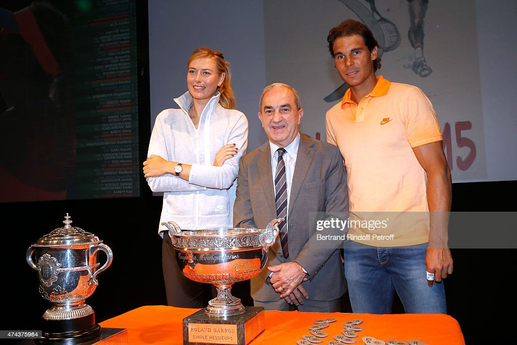 2015 French Open : Women's And Men's Singles Draw In Paris
