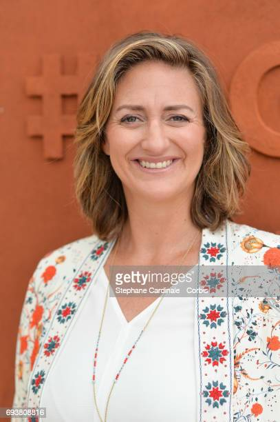 Tennis Player Mary Pierce attends the French Tennis Open 2017 Day Twelve at Roland Garros on June 8 2017 in Paris France