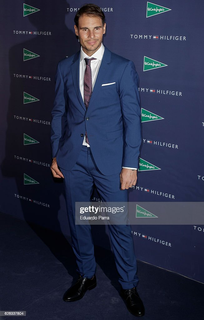 Rafa Nadal Is Second Year Ambassador for Tommy Hilfiger : Photo d'actualité