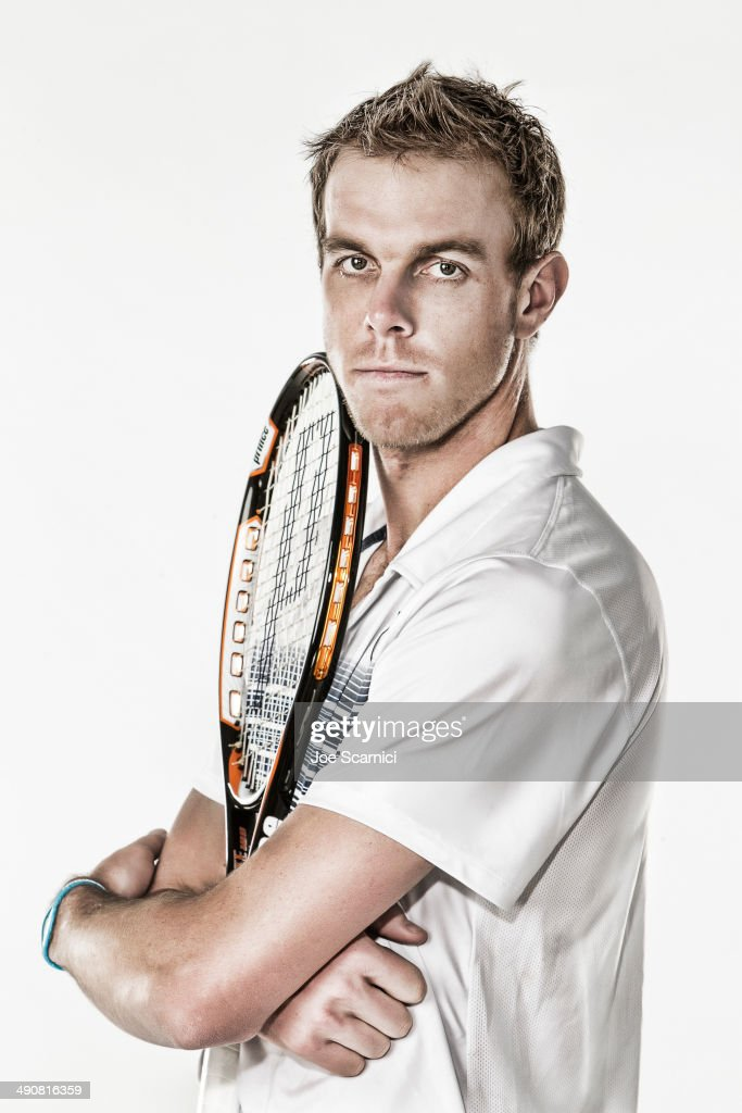 Tennis Player <a gi-track='captionPersonalityLinkClicked' href=/galleries/search?phrase=Sam+Querrey&family=editorial&specificpeople=736491 ng-click='$event.stopPropagation()'>Sam Querrey</a> is photographed for Self Assignment on December 4, 2010 in Manhattan Beach, California.