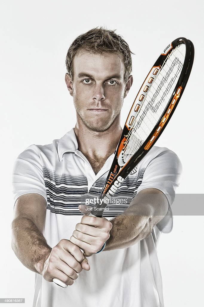 Tennis Player Sam Querrey is photographed for Self Assignment on December 4, 2010 in Manhattan Beach, California.