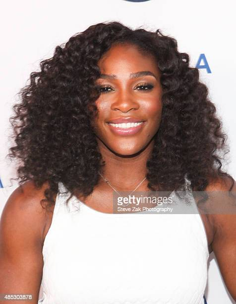Tennis player Serena Williams attends 2nd Annual Delta Open Mic at Arena on August 26 2015 in New York City