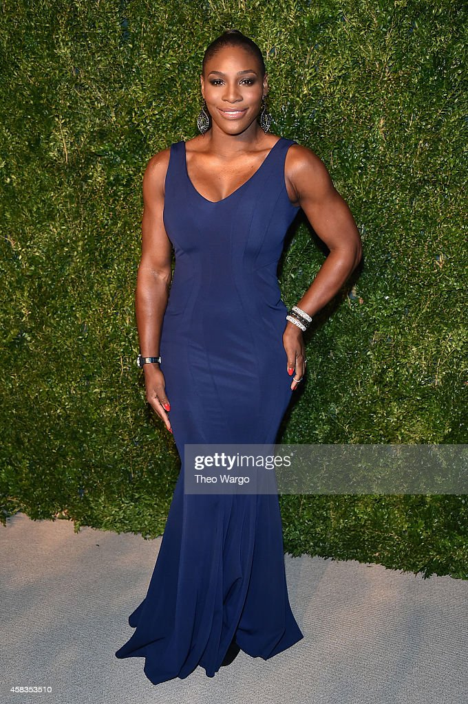 Tennis player <a gi-track='captionPersonalityLinkClicked' href=/galleries/search?phrase=Serena+Williams&family=editorial&specificpeople=171101 ng-click='$event.stopPropagation()'>Serena Williams</a> attends the 11th annual CFDA/Vogue Fashion Fund Awards at Spring Studios on November 3, 2014 in New York City.