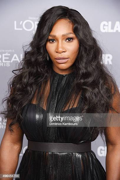 Tennis player Serena Williams attends the 2015 Glamour Women Of The Year Awards at Carnegie Hall on November 9 2015 in New York City