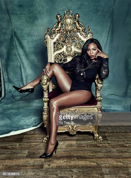 Tennis player Serena Williams is photographed for Sports Illustrated on November 27 2015 in Los Angeles California COVER IMAGE CREDIT MUST READ Yu...