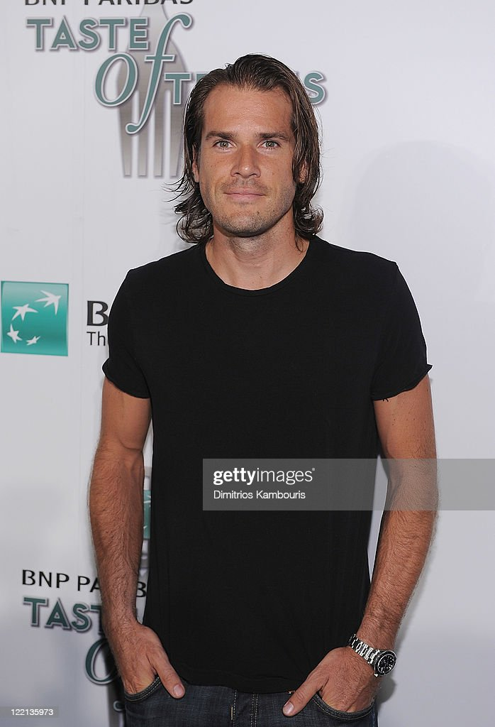 Tennis player Tommy Haas attends the 12th Annual BNP Paribas Taste of Tennis at the W New York Hotel on August 25 2011 in New York City
