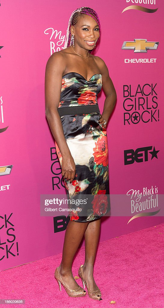 Tennis player Venus Williams attends Black Girls Rock! 2013 at New Jersey Performing Arts Center on October 26, 2013 in Newark, New Jersey.