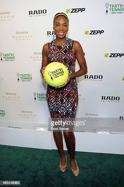Tennis player Venus Williams attends the Taste of Tennis Gala during Taste of Tennis Week at W New York on August 27 2015 in New York City