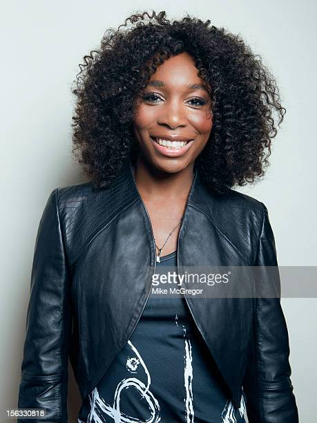 Tennis player Venus Williams is photographed for Self Assignment on September 11 2012 in New York City