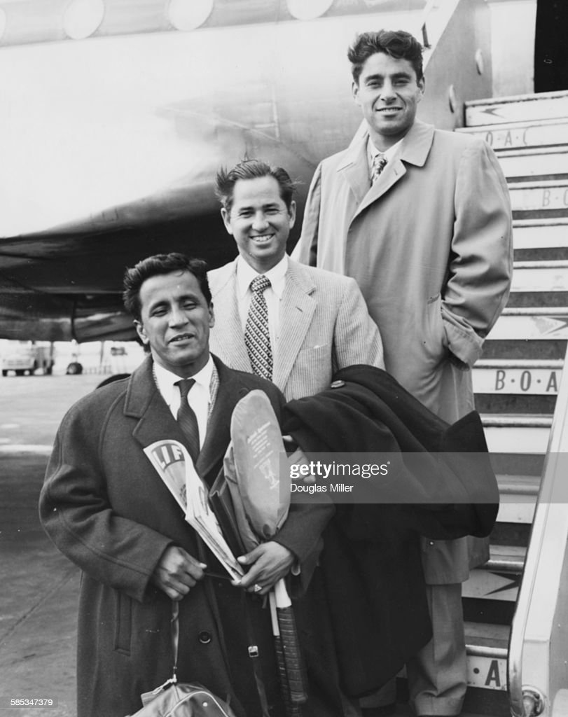 Pancho Segura Bobby Riggs And Pancho Gonzales