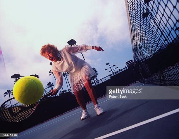 Portrait of 82yearold Dorothy 'Dodo' Cheney during practice Cheney has won over 300 titles La Jolla CA 7/23/1999 CREDIT Robert Beck