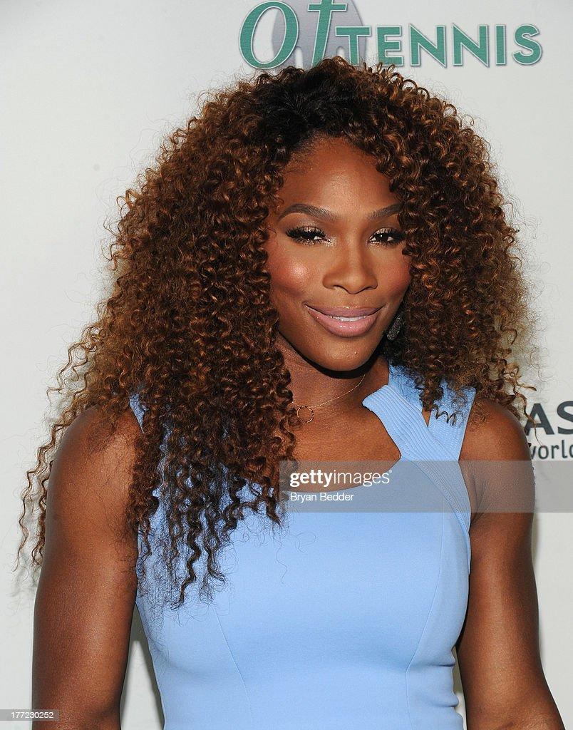 Tennis Pro Serena Williams attends the 14th Annual BNP Paribas Taste Of Tennis at W New York Hotel on August 22, 2013 in New York City.