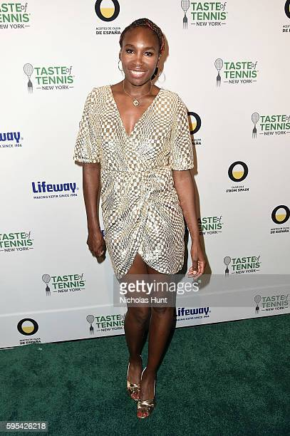 Tennis Pro Venus Williams attends Taste Of Tennis New York on August 25 2016 in New York City