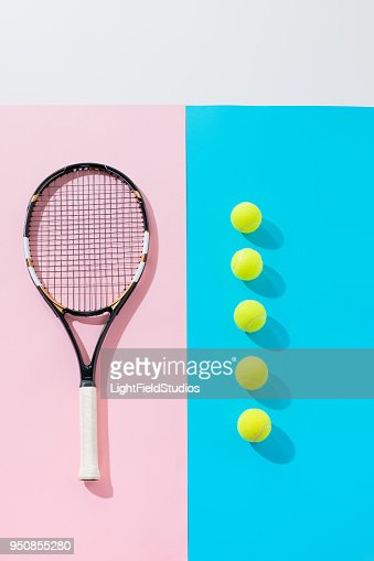 tennis racket : Stock Photo