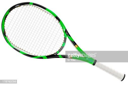 Raquette de Tennis de Texture et de Style : Photo