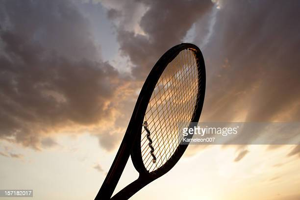 Tennis Racquet silhouette